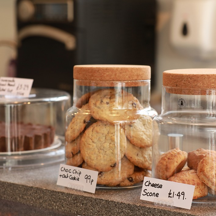Image of cookies in a jar