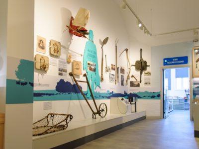 Interior gallery view